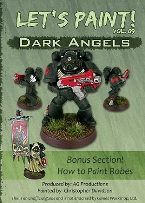 Let's Paint: Dark Angels